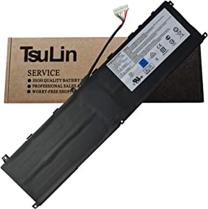 TsuLin BTY-M6L Laptop Battery Replacement for MSI GS65 GS75 Stealth Thin 8SE 8SF 8SG 8RF 9SD 9SE 9SF 9SG P65 P75 Creator 8RD-021 8RE 9SC PS63 9SE-285ES Modern 8RC 8SC GS60 6QE-054US MS-16Q2 80.25Wh