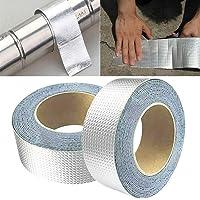 Super zelfklevende waterdichte tape butyl rubber aluminiumfolie tape, voor daklek, oppervlakte scheur, vensterbank gap…