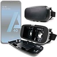 DURAGADGET Masque VR de réalité virtuelle Rigide pour Smartphone Samsung Galaxy A20 (A205F), A20e, A40 (A405F), A10 (A105F)
