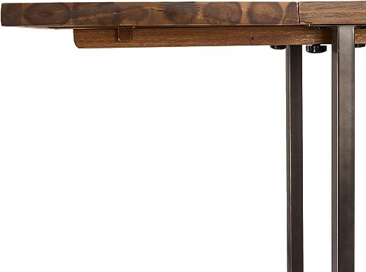 Ibbe Design Furniture Mesa de Comedor, Metal, 90x50: Amazon.es: Hogar