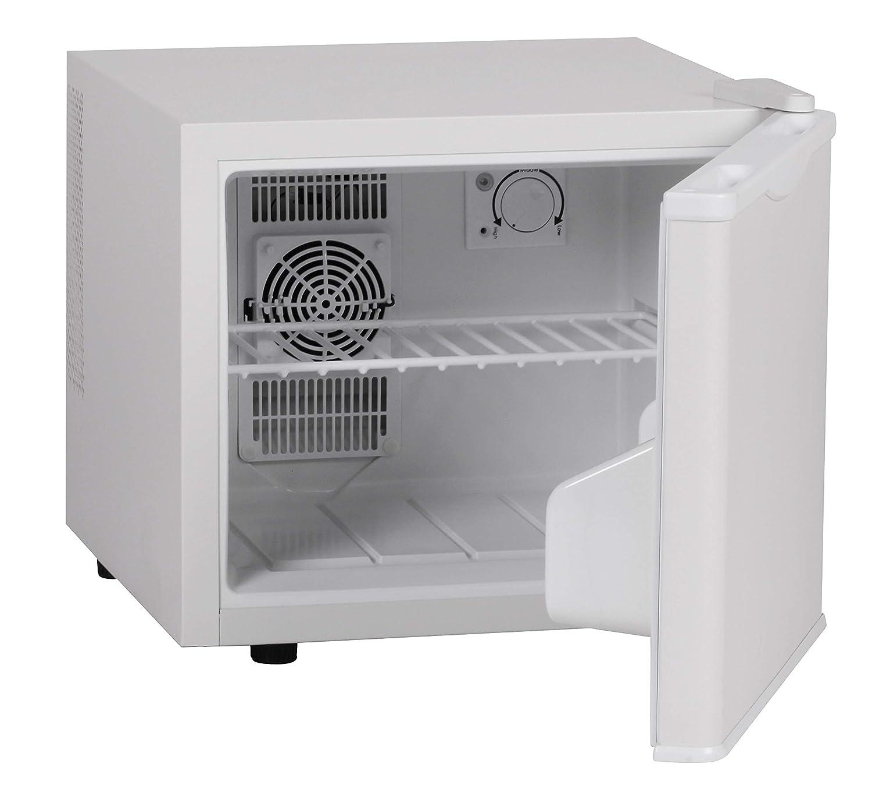 Amstyle mini frigo 17 litro minibar Bianco indipendente mini frigo piccolo rumore 5 ¡ -15 ¡ C Classe energetica A + tavolo Frigo solo per frigo bevande 230V 17L