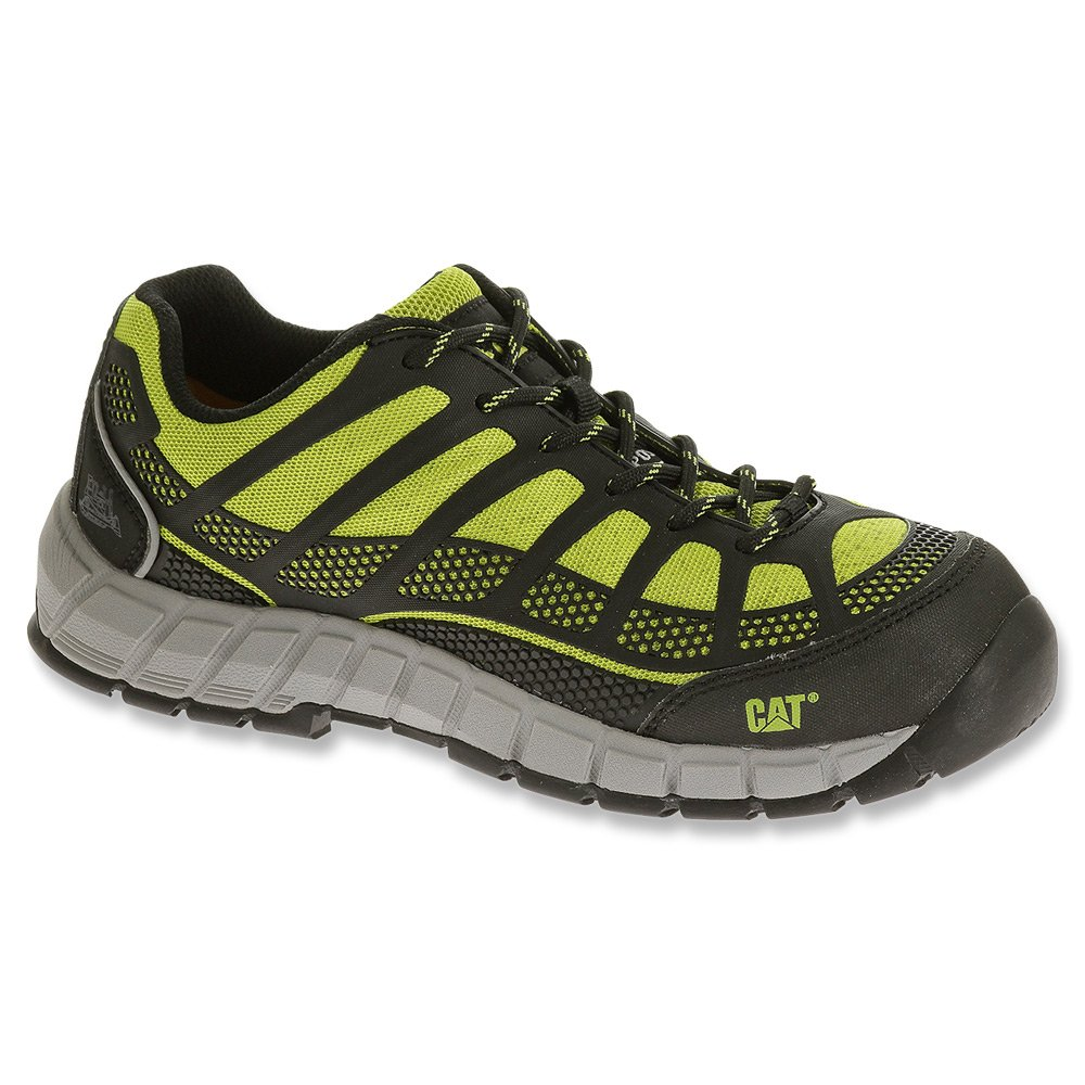 Caterpillar Women's Streamline Comp Toe Work Shoe B005BI1730 5.5 B(M) US|Lime