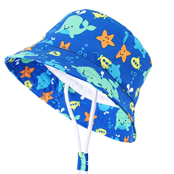 Amazon.com: Durio - Sombreros de sol para bebé, protección ...
