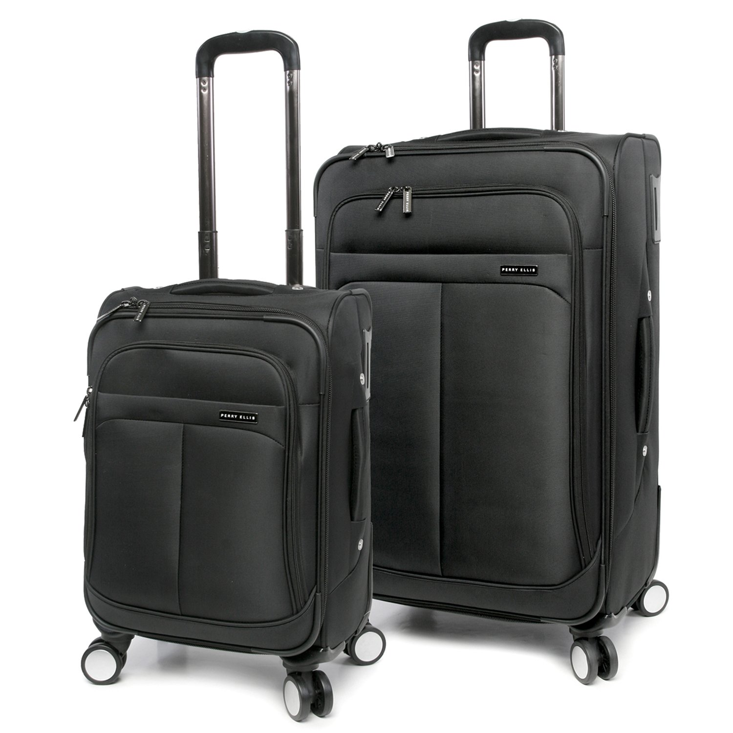 Luggage Prodigy 2 Piece Set Expandable Suitcase with Spinner Wheels