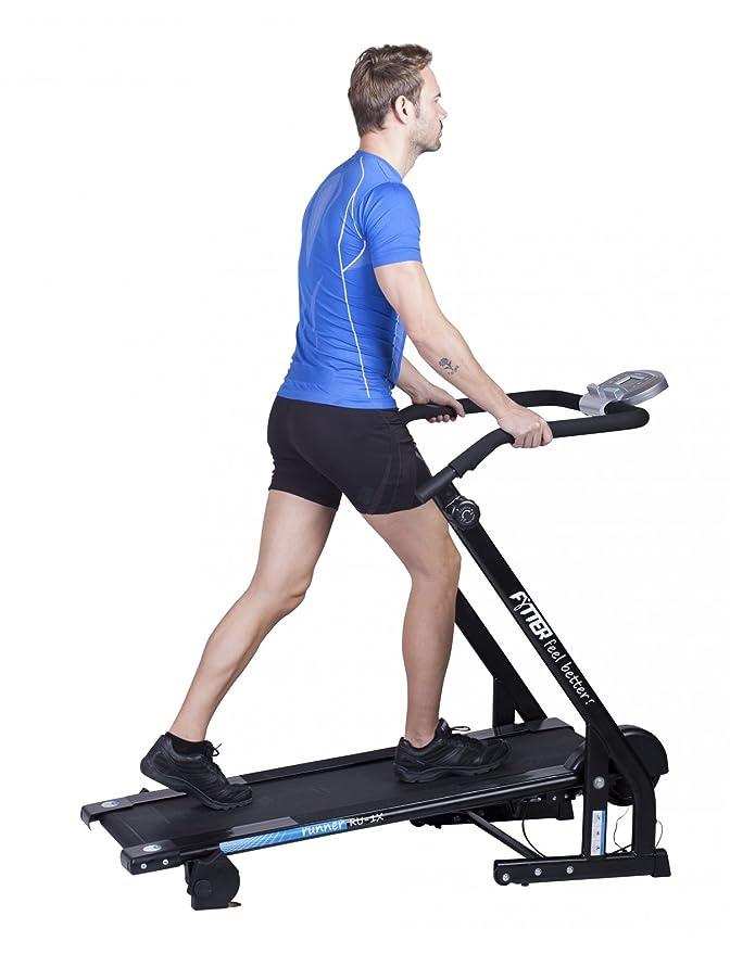 Fytter Runner RU-1X - Cinta de andar ecológica con pulsómetro ...