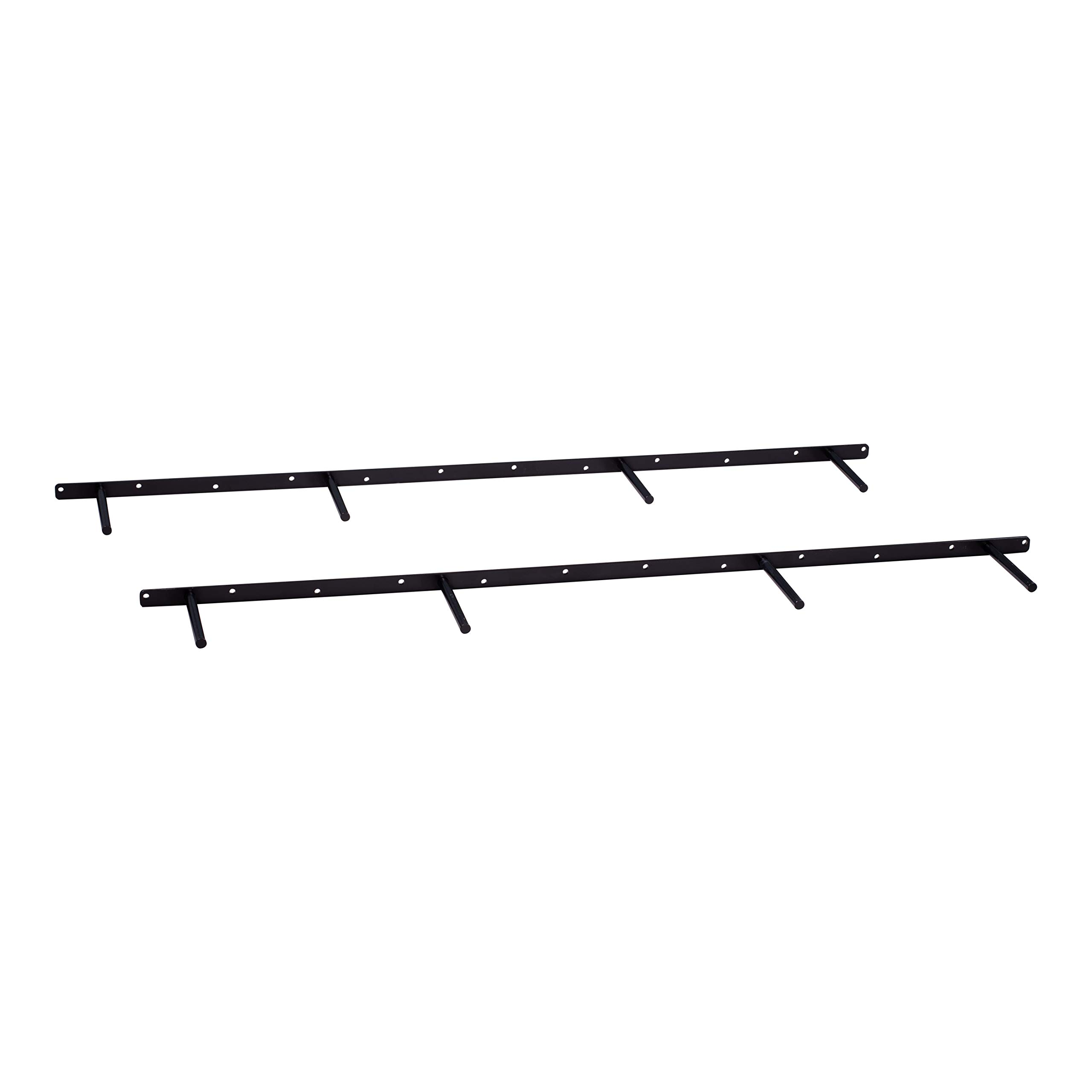DAKODA LOVE 44'' Floating Shelf Brackets (Set of 2), for 46'' to 60'' Shelves, Made in USA, Uni-Bracket Blind Shelf Supports (44.625'' Long)