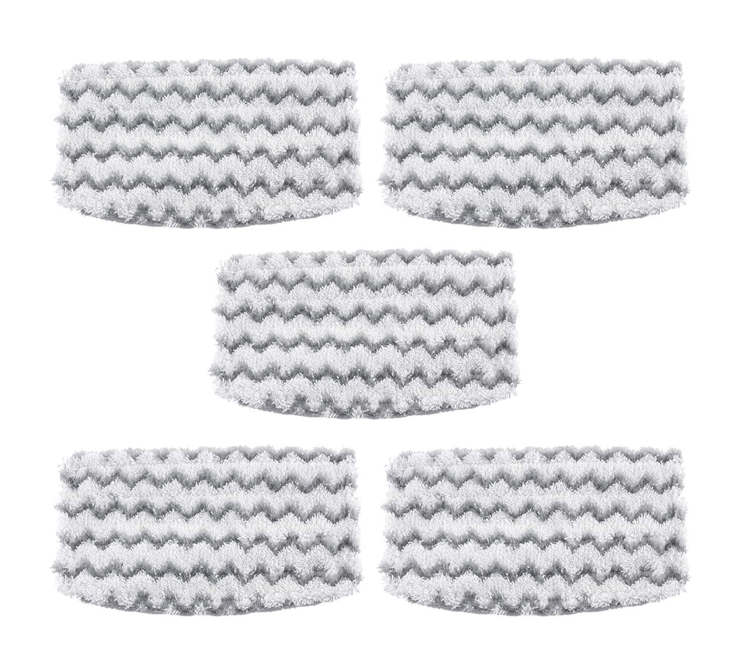 EZCARRIER Steam Mop Pads Replacement for Shark Vacuum Cleaner S1000 S1000A S1000C S1000WM S1001C (Pack of 5)