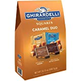 Ghirardelli Milk Caramel Chocolate Squares 20.75 Ounce Bag Dark Chocolate Sea Salt