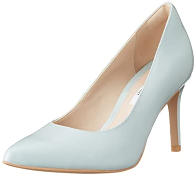 9074ab5b164bdf Clarks Women s Dinah Keer Court Shoes Blue Blau (Aqua Patent) 8 ...
