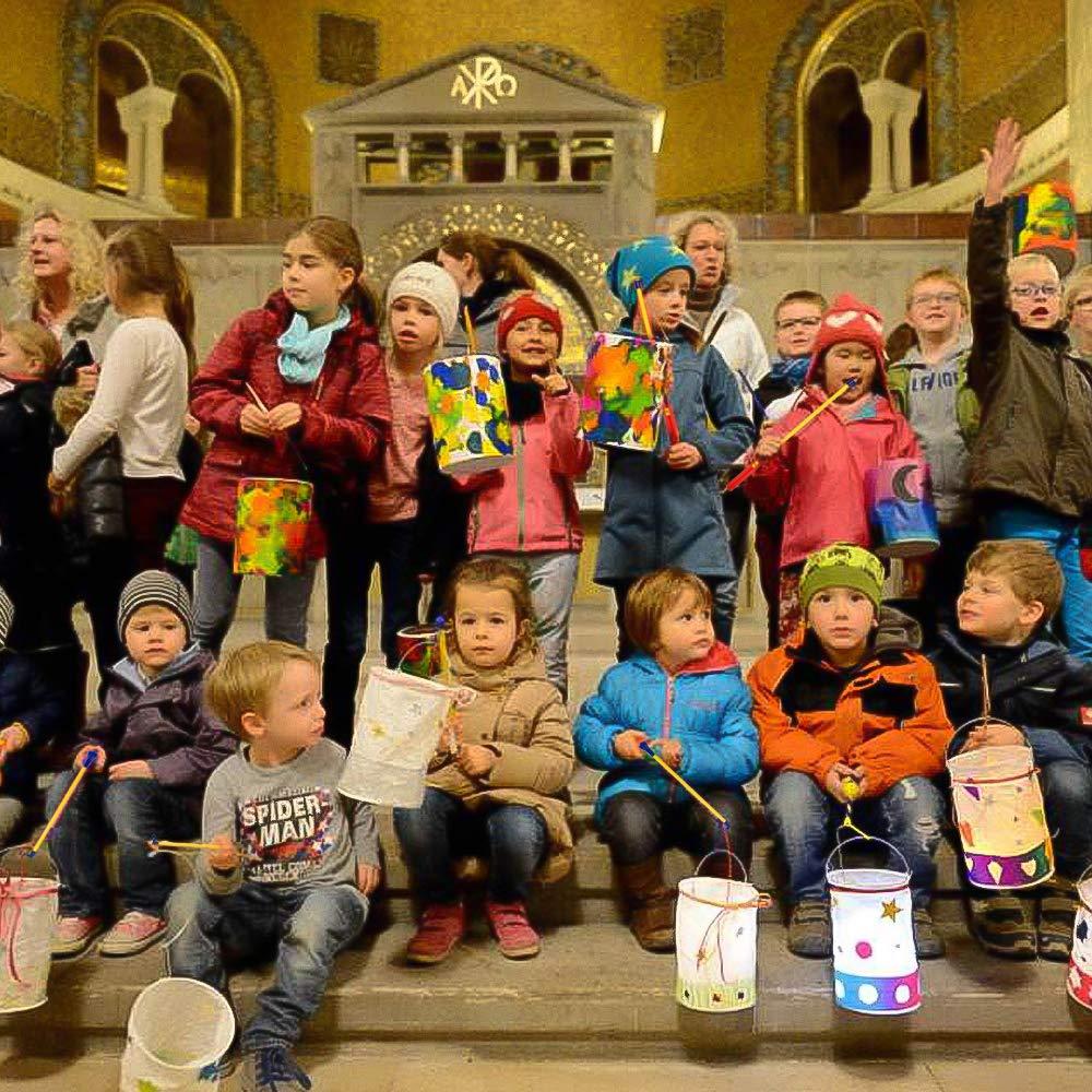 Feste in Maschera Set di 6 Lanterne a LED da 40 cm per Feste dei Bambini NASHARIA per Halloween