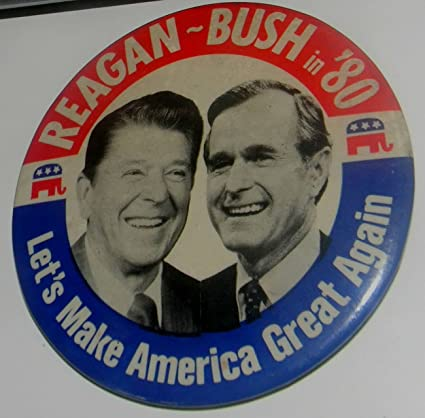 amazon com 1980 collectible sovenier ronald reagan and george bush
