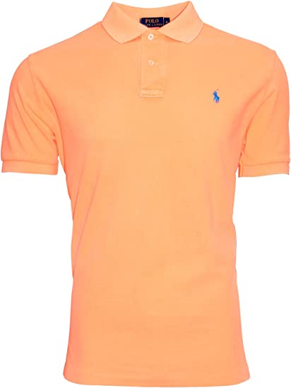 Ralph Lauren - Polo - Uni - Homme Orange
