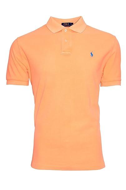 Ralph Lauren - Polo - Básico - para Hombre Naranja Naranja Medium ...