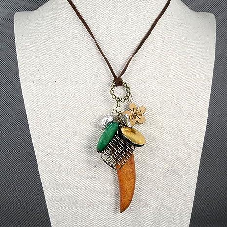 Collar con colgante de joyería de moda collar para disfraz de ...