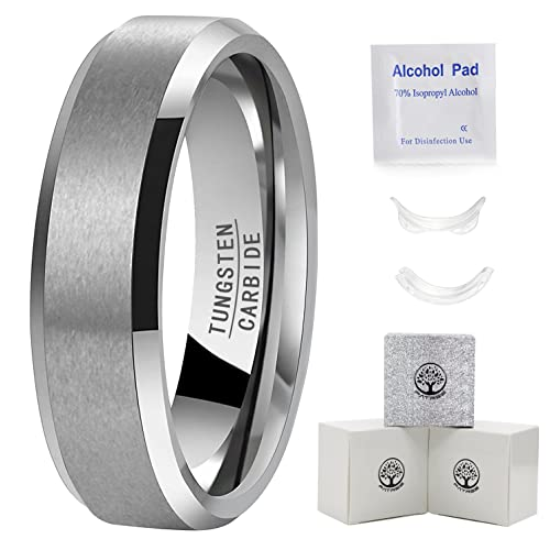 00f6367ae722 Image Unavailable. Image not available for. Color  Mens Tungsten Rings  Wedding Bands ...