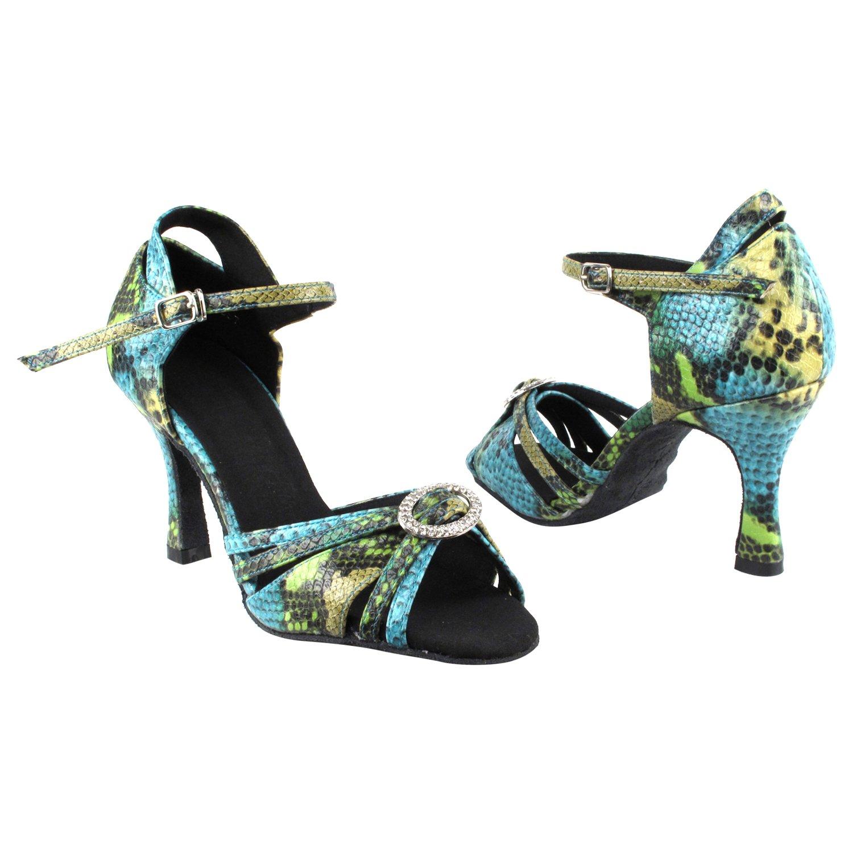 【正規取扱店】 [Gold Pigeon Shoes] レディース 9 B0754VTHC5 Green Heel 2.5