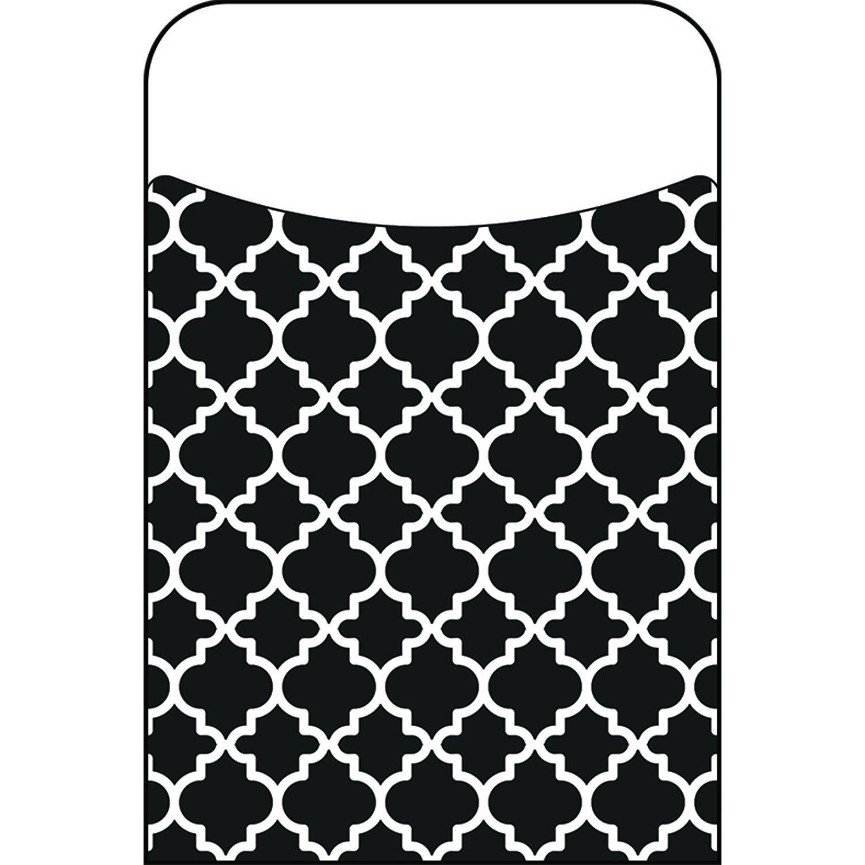 Trend Enterprises T-77020BN Moroccan Black Terrific Pockets, 40 per Pack, 6 Packs