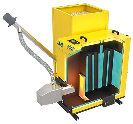 Eco-calefacción de alta eficiencia de calderas de gran capacidad sólida Pereko KSP pellet 20kw: Amazon.es: Bricolaje y herramientas