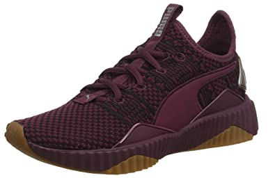 Puma Women s Purple Mesh and Rubber Defy Luxe Wn s Shoes -38  Buy ... bb43eca12be3d