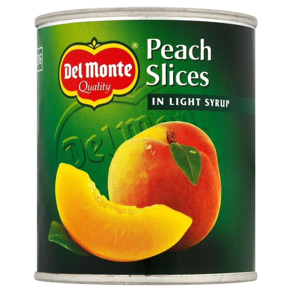 Del Monte Peach Slices in Syrup (227g) - Pack of 6