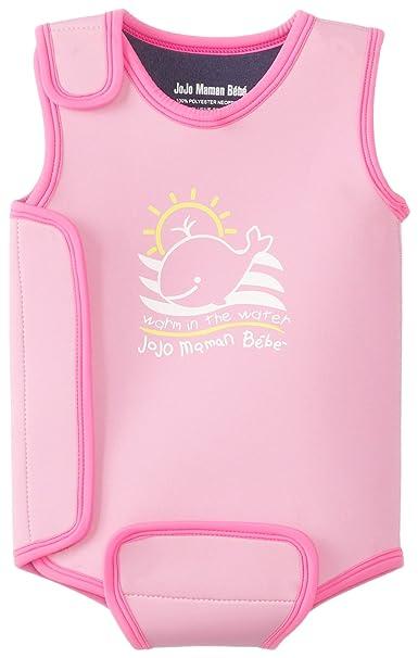 Amazon.com: JOJO maman bebe Baby Girls Wetsuit, 0-6 meses ...