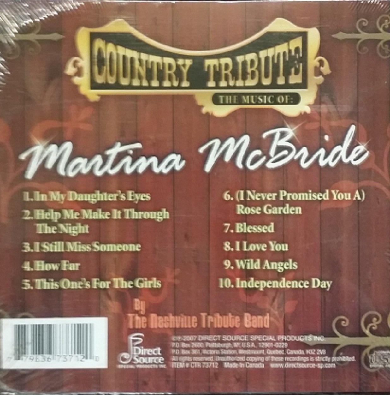 Nashville Tribute Band - Tribute to Martina Mcbride - Amazon.com Music