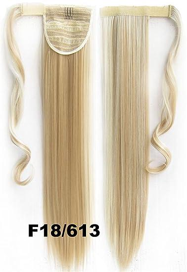 Amazoncom AH Piece DIY Ponytail Wrap Around Clip In Hair - Diy ponytail wrap