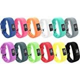 12 Colors Garmin Vivofit JR Bands With Secure Watch Clasp , BeneStellar Silicone Replacement Bands for Garmin Vivofit JR