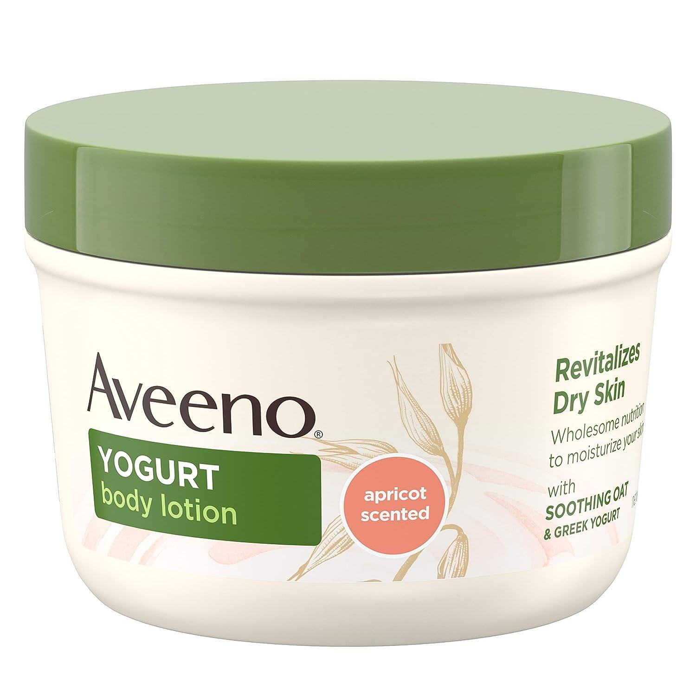 Aveeno Daily Moisturizing Body Yogurt Lotion, Apricot & Honey 7 oz