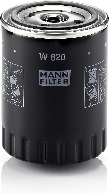 Original Mann Filter Ölfilter W 820 Für Pkw Auto