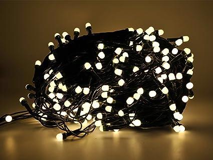 Série 500 lumi¨res de No l  LED Blanc chaud cha ne 40 MT pour usage