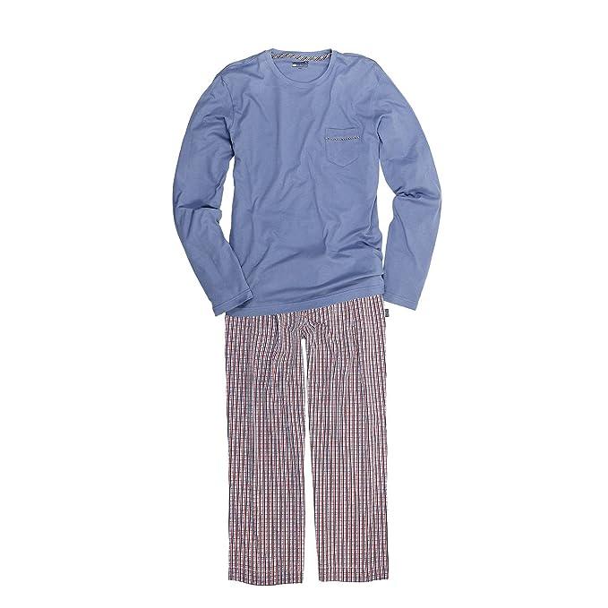 Pijama de JOCKEY / Hasta Talla 6XL y Sobre la longitud, de cuadros - algodón