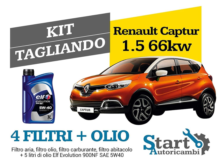 Kit Tagliando Olio Elf + Filtri Tecneco codice RE532S