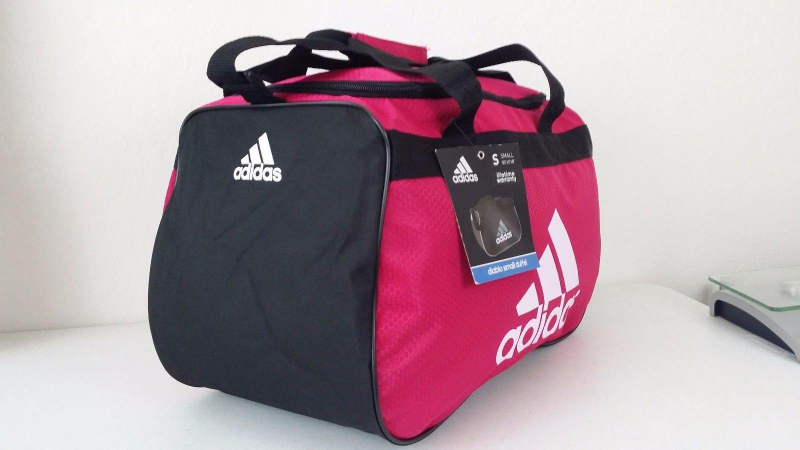 adidas Diablo Duffel Small (Bold Pink/Black/White) by adidas (Image #2)