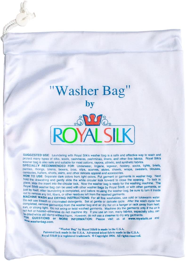 Royal Silk Small Laundry Bag for Silks and Fine Washables