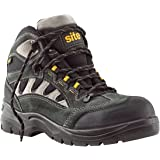 Site Granite Safety Trainers Boots Dark Grey Size 9