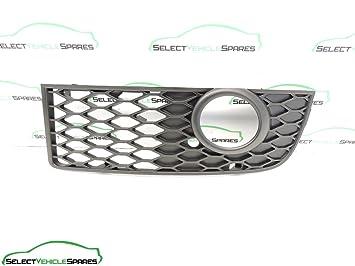 Audi A4 B6 nuevo Genuine S-Line lado del pasajero luz antiniebla Grill Bumper borde 01 - 04: Amazon.es: Coche y moto