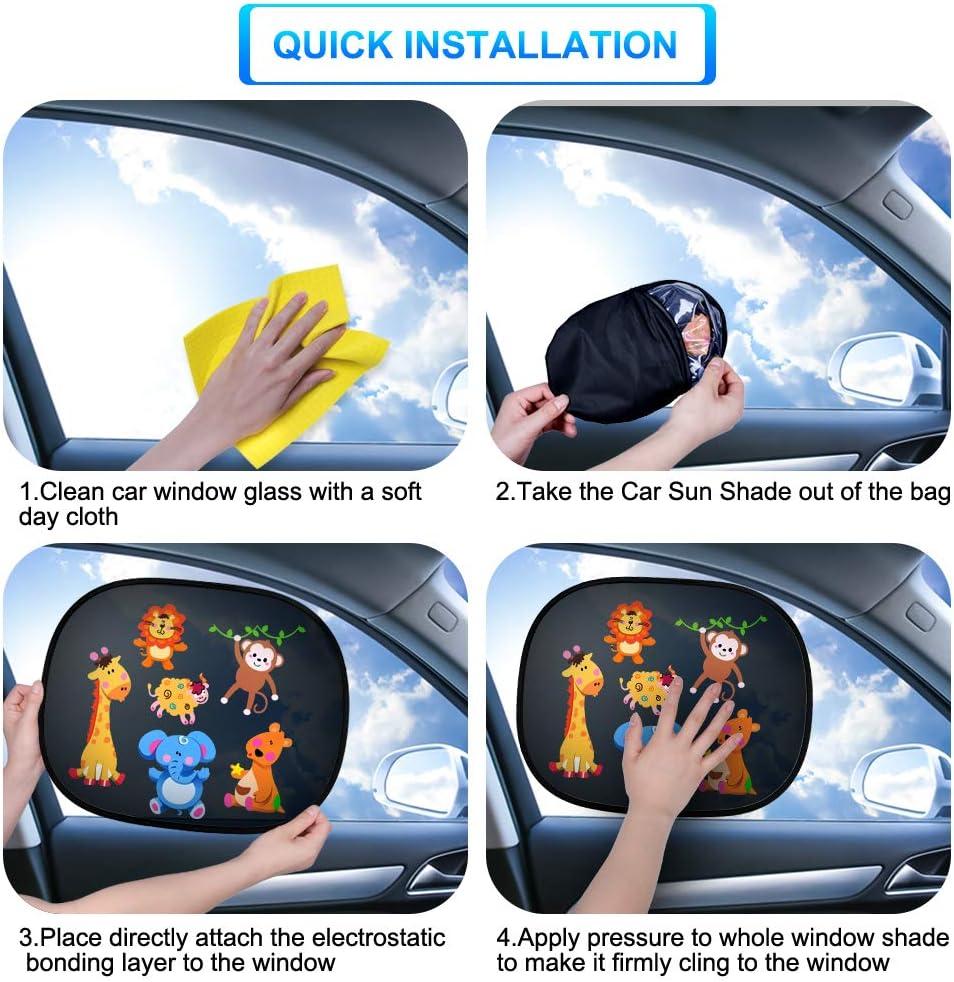 2x Kinder Baby Autofenster UV Schutz Netz Sun Blind Blenden