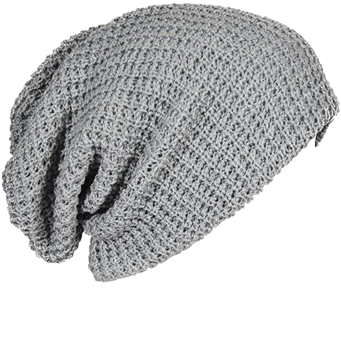 7e8d4327514 Image Unavailable. Image not available for. Color  FORBUSITE Oversized  Baggy Slouchy Beanie Thick Winter Men Hats Skullcap ...