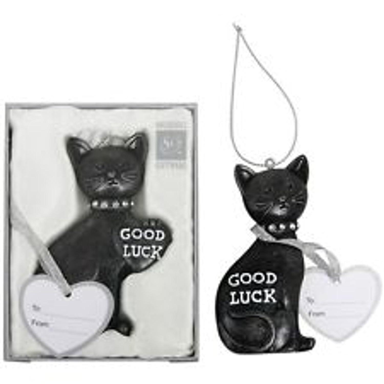 Lucky black cat wedding keeepsake amazon kitchen home negle Choice Image
