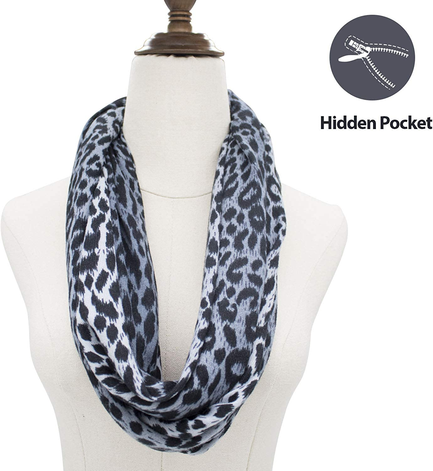 Scarf With Hidden Pocket...