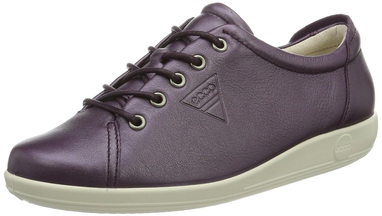 Ecco Soft 2.0, Zapatos de Cordones Derby para Mujer 42 EU|Violett (1276mauve)
