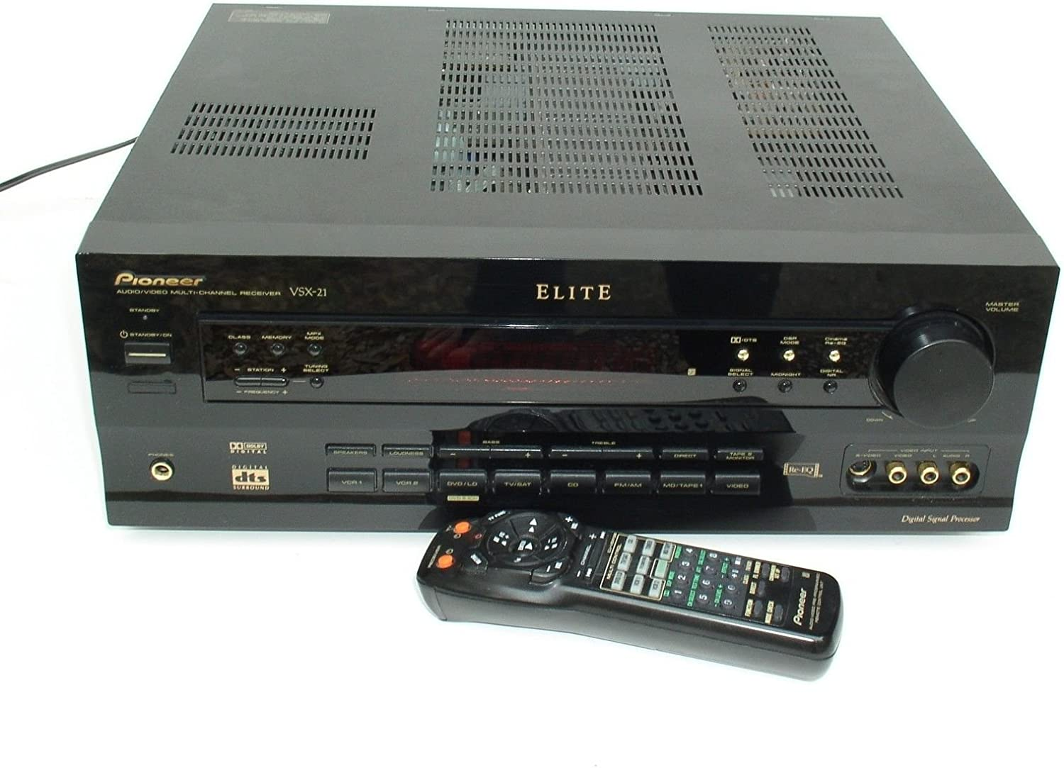 5.1 Home Theater Receiver & Remote Pioneer VSX-21 Elite