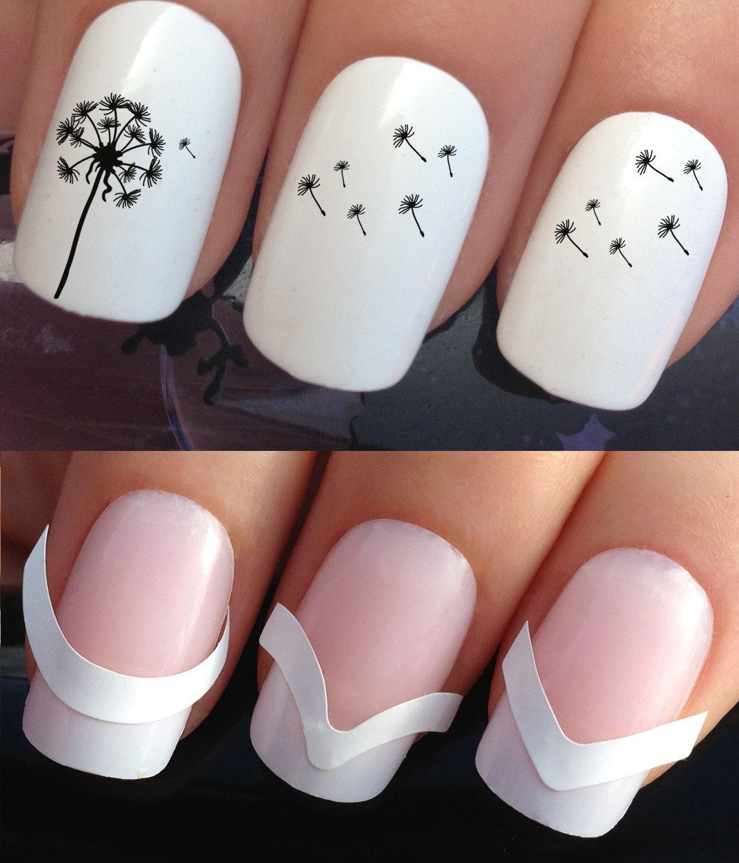 Nail Art Ideas nail art water decal : WATER NAIL TRANSFERS DECALS STICKERS ART SET #334 & 172. **plus ...