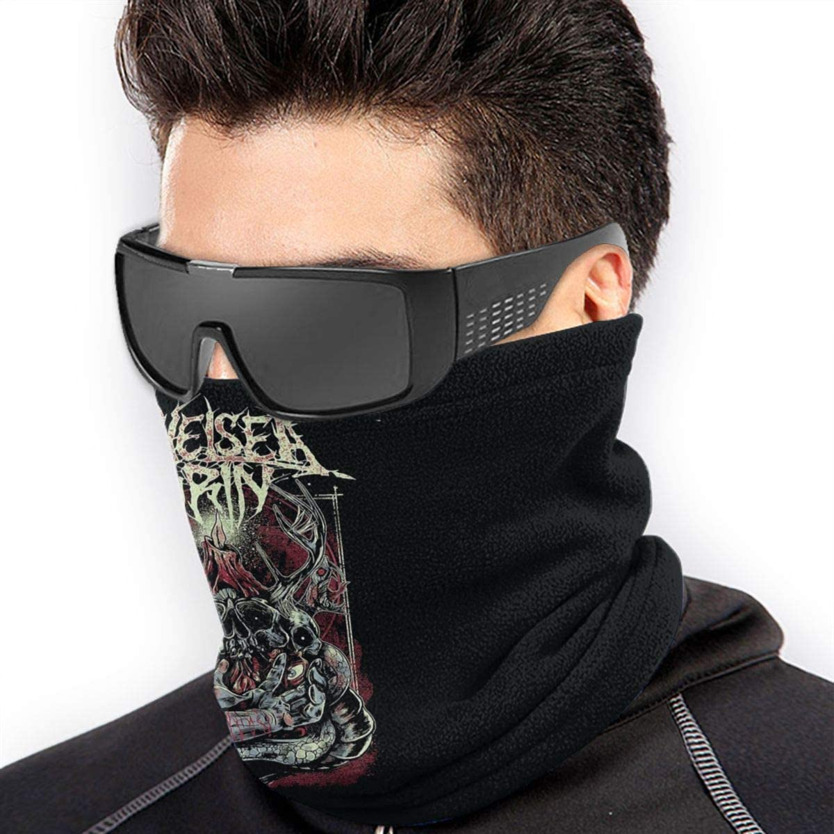 Chelsea Grin Outdoor Mouth Mask Windproof Sports Face Mask Dust Shield Scarf Men Woman Neck Warmer