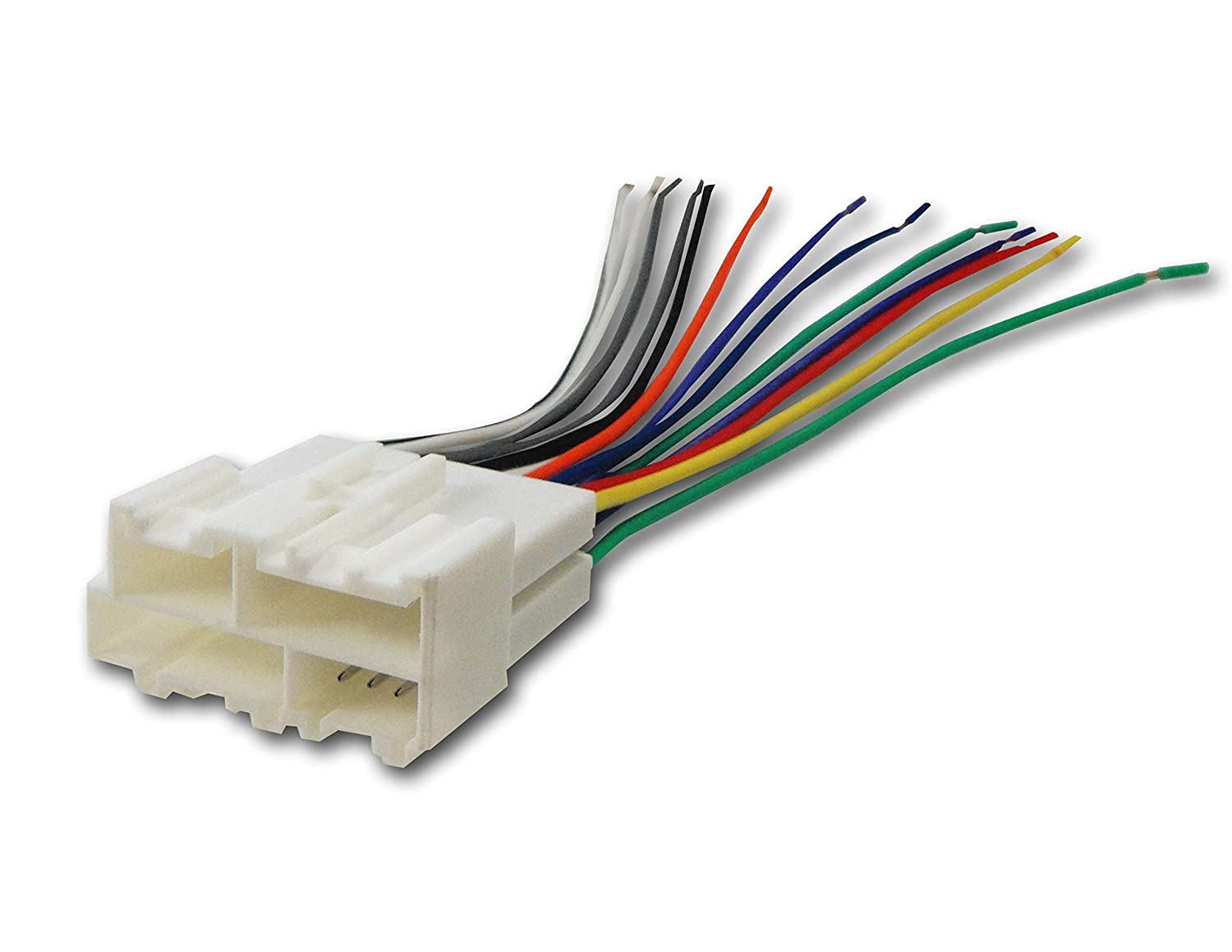 Absolute USA Inc. 70-1858, GWH-344 Absolute USA A344-1858 Radio Wiring Harness for General Motors 1998-2005 Power 4 Speaker
