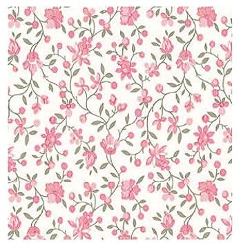 i.stHOME Klebefolie Möbelfolie selbstklebend Blumen rosa Blumenranken  Dekofolie Möbel bunt Selbstklebefolie Vintage Selbstklebende Folie Landhaus  ...