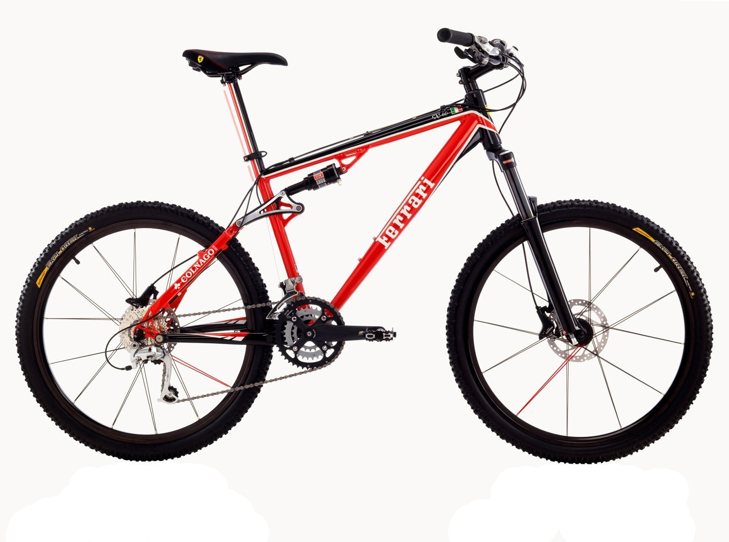 Ferrari Cx  Full Suspension Mountain Bike Small Amazon Co Uk Sports Outdoors