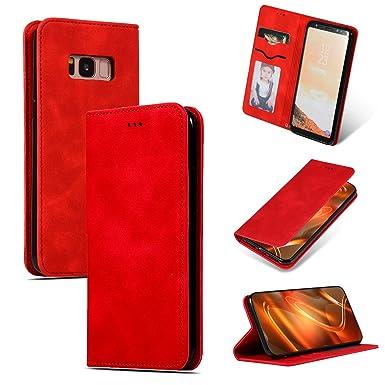 niter Funda para Samsung Galaxy S8, S8 Plus, de Piel ...