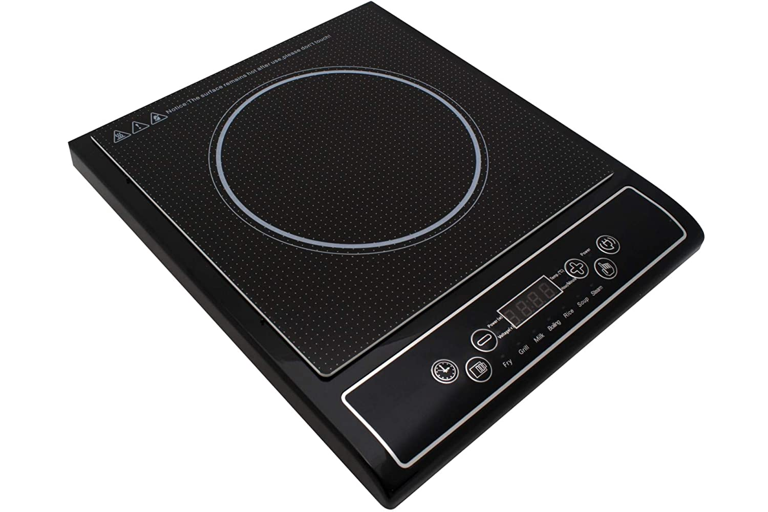 Induktion Kochplatte Herdplatte Induktionskochplatte 2000 Watt Led Display Timerfunktion COOK TOP